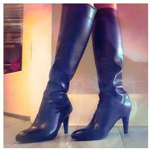 FRANCO SARTO Traspira Knee Boots sz 8